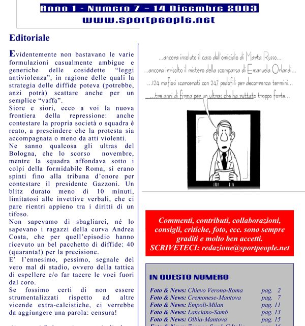 Copertina n° 2003-07