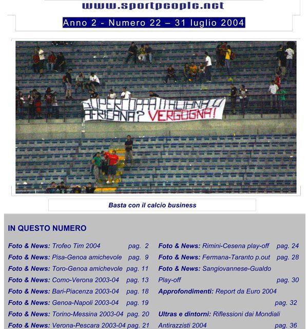 Copertina n° 2004-22