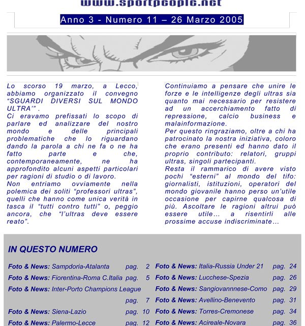 Copertina n° 2005-11
