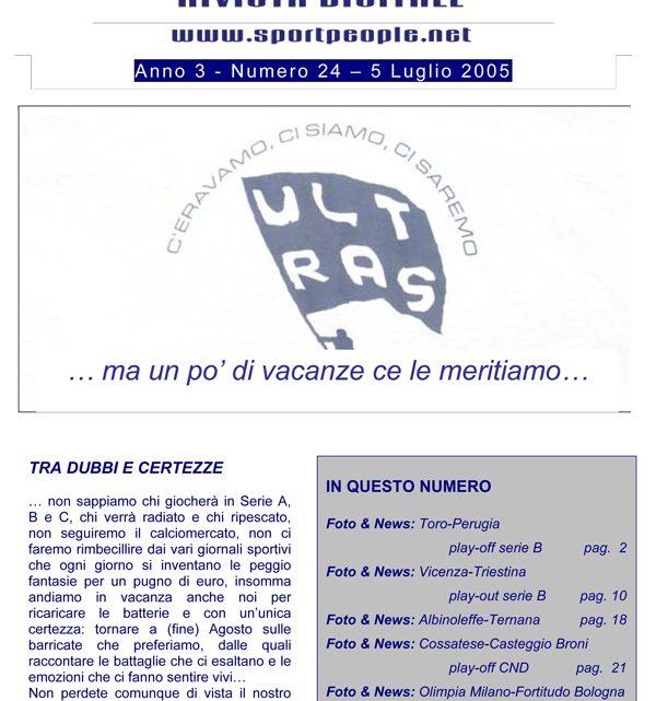 Copertina n° 2005-24