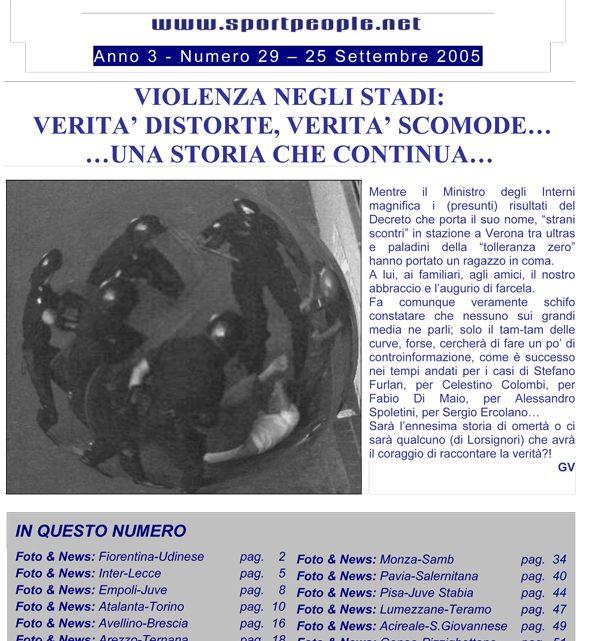 Copertina n° 2005-29