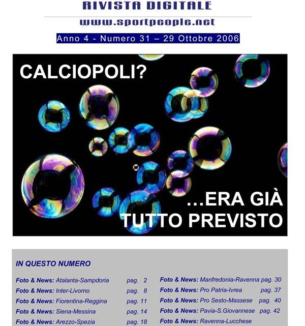 Copertina n° 2006-31